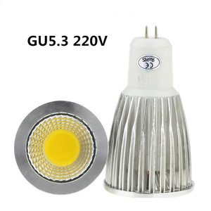 Image 4 - 10X led bulb GU10 220V  9W 12W 15W LED lamp lighting 110V dimmable bombillas E14 E27 GU5.3  MR16 12V  LED COB Spot light