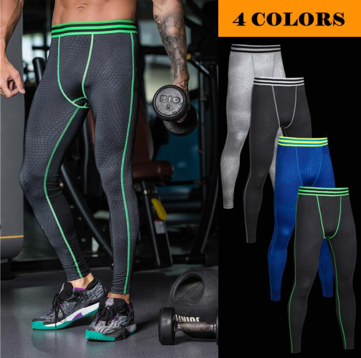 Basketball Running Tights Men Jogging Leggings Compression Pants Sports Fitness Gym Clothing Sport Trousers yoga Free Shipping