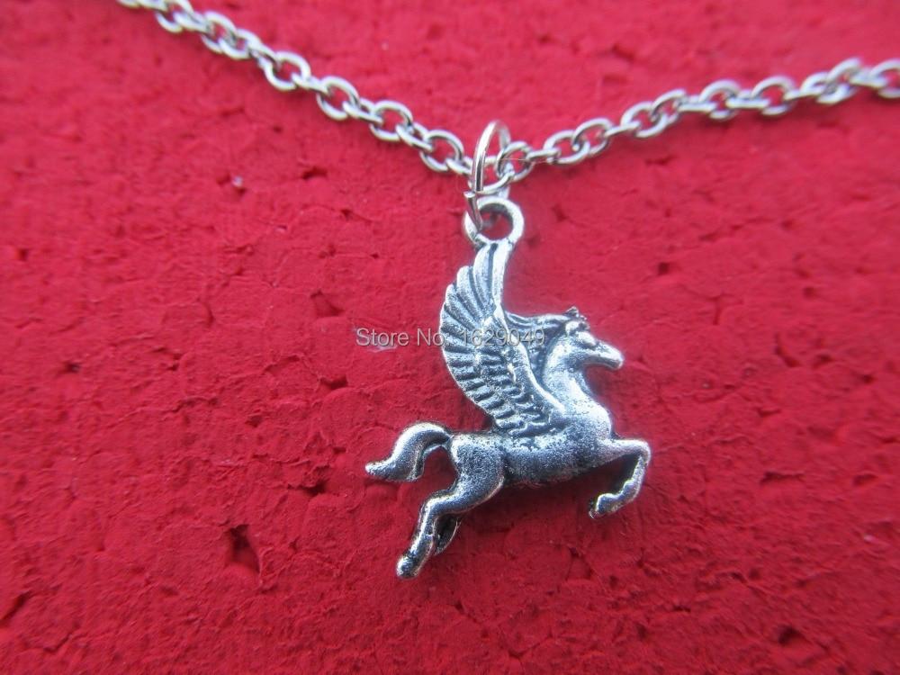 Wholesale Tibet Silver Pegasus Charm Pendant Beaded Jewelry