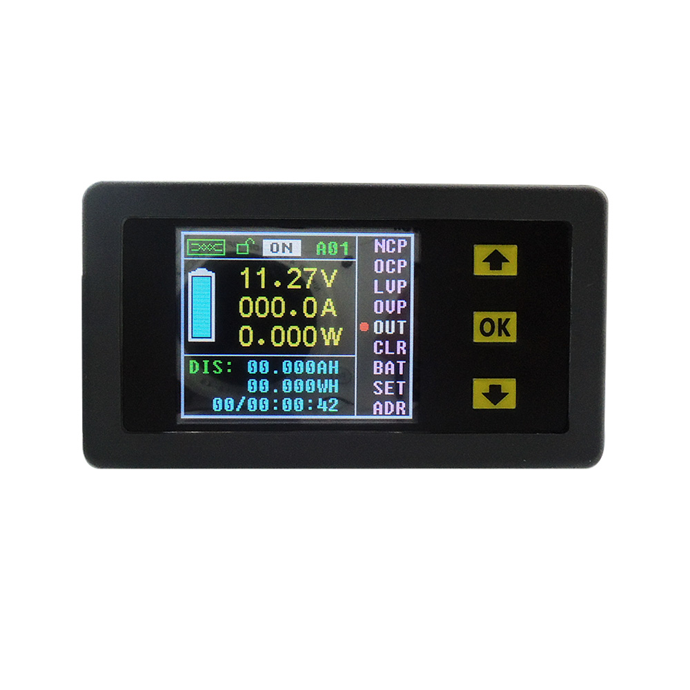 Digital Power Display : Dc v a wireless digital lcd display current