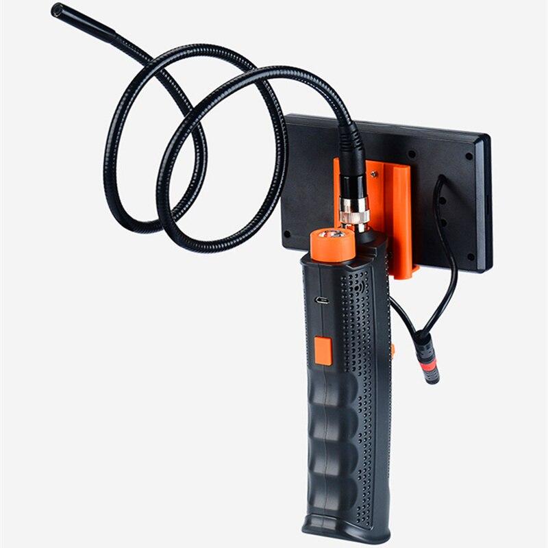 FGHGF H68 Maintenance Endoscope Pipe 8mm Diameter 4.3 Inch Screen With LED Light Repair Tool Snake Tube 4X Zoom