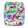 Hot Sale Baby Washable Reusable Real Cloth Pocket Nappy Diaper Cover Wrap, suits Birth to Potty One Size Nappy Diaper Cover Wrap