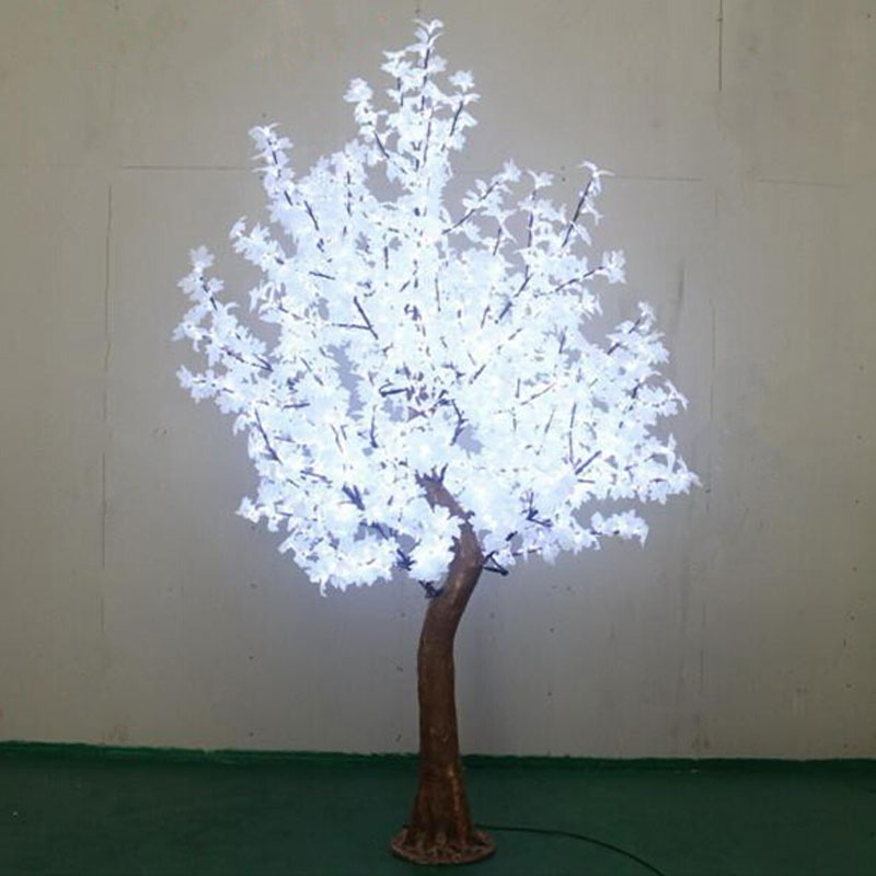 2.7Meters 1200pcs artificial christmas trees with white christmas tree lights for outdoor decorating