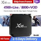 French IPTV Box X96 mini TV Box Android 7.1 S905W SUBTV Code IPTV France Belgium Turkey Arabic IP TV Box X96mini IPTV Top Box
