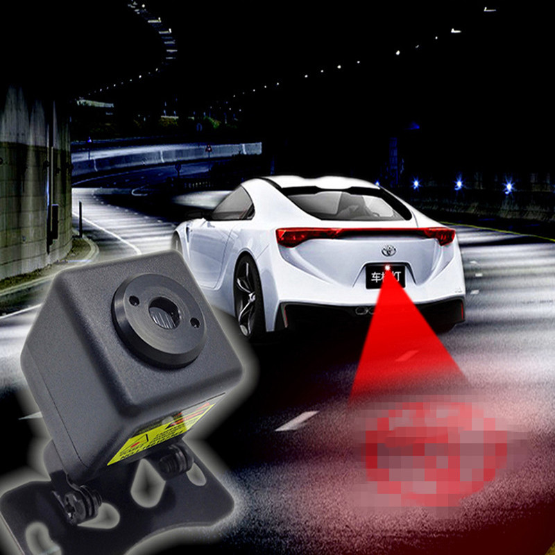 รถเลเซอร์หางLEDไฟต่อต้านท้ายชนข้อควรระวังหางตัดหมอกขับรถเลเซอร์สีแดงแสงเลเซอร์แสงสำหรับ...
