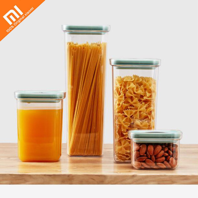 Xiaomi youpin food storage tank 2.4L kitchen sealed cans food cans moisture-proof storage box dry goods storage bottles Smart