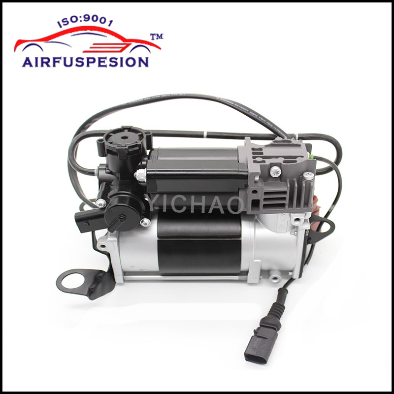 Free Shipping For Audi A6 C6 4F Quattro Air Suspension Air Compressor Pump Air Ride Syst ...