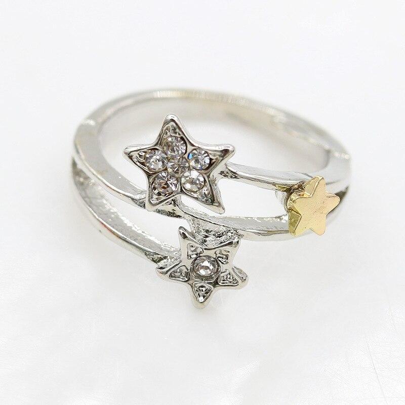 Красивый план модные метеорный поток кольцо звезда кольцо для Для женщин оптовая продажа
