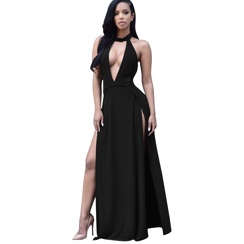 Famous Velvet Evening Dresses 2015 Sexy High Neck Party