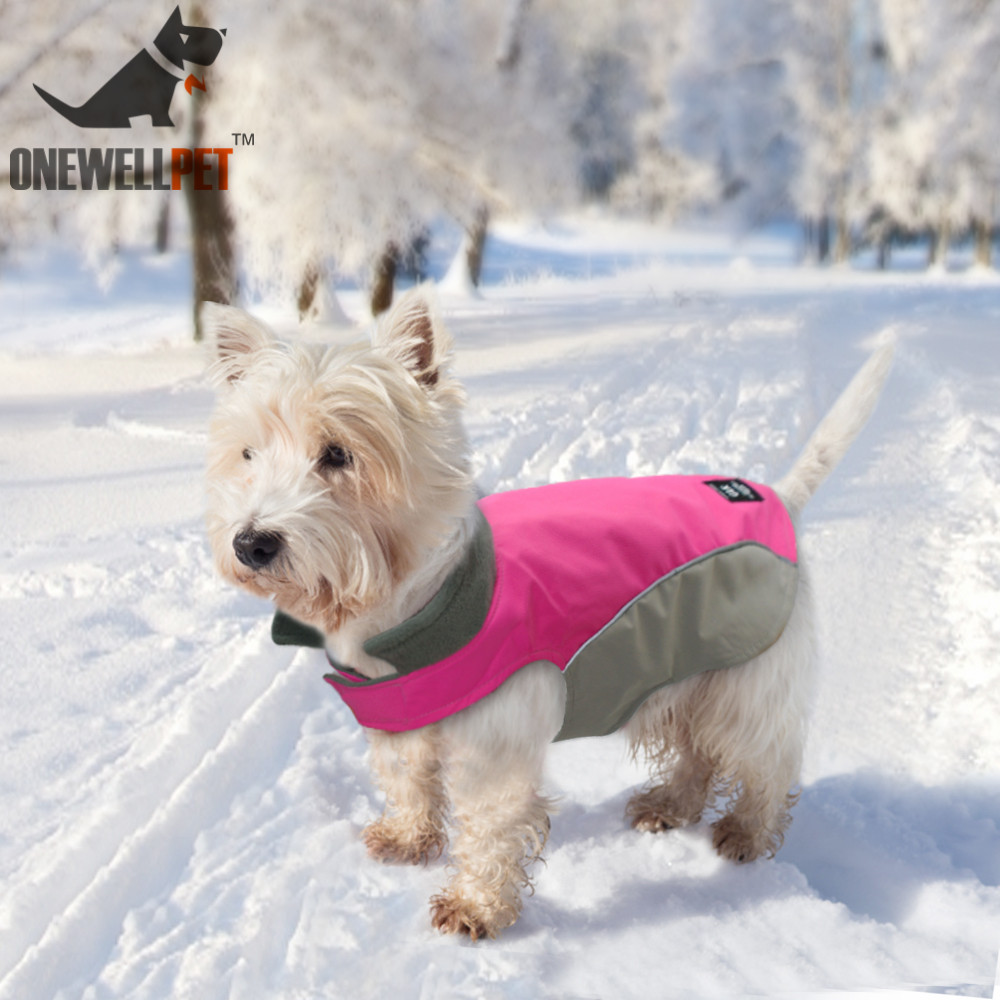 Waterproof Dog Clothes Winter Pet Clothes Warm Thick Dogs