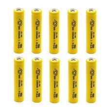 OOLAPR 2/4/8 PCS 1.2V NI MH AAA 2200mah Rechargeable Batteries Ni-MH Rechargeable aa Battery For Toys Camera Microphone стоимость