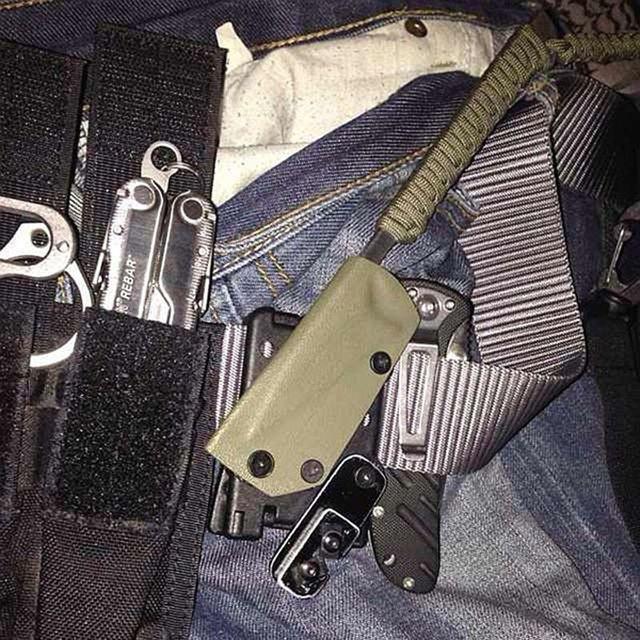 OOTDTY Tek Lok Outdoor Camp Travel Belt Loops Belt Clip For Knife Kydex Sheath/Holster Knife accessories dorp shipping