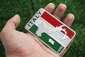 2016 3D Alumínio Itália Mapa Bandeira Nacional Etiqueta Do Carro Estilo Do Carro Para Fiat Iveco DeTomaso Maserati Lamborghini Alfa Romeo Zagato