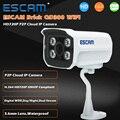ESCAM QD300 Мини Пуля Ip-камера 1.0 МП HD 720 P Onvif P2P ИК Наружного Наблюдения Ночного Видения Инфракрасного Cctv камера
