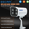 Escam qd300 mini bala ip câmera de 1.0 mp hd 720 p Onvif P2P IR Night Vision Infrared Segurança Vigilância CCTV Ao Ar Livre câmera