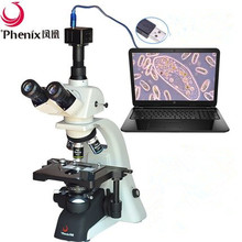 1600X Trinocular Biological olympus style Microscope can connect with CCD Video camera and LCD screen