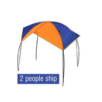 Fishing tools awning fishing tent boat cool inflatable dinghy tent rain protection sunscreen