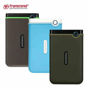 Transcend Hard-Drives HDD External Portable 1TB Usb-3.0 Anti-Seismic High-Speed Ultra-Thin