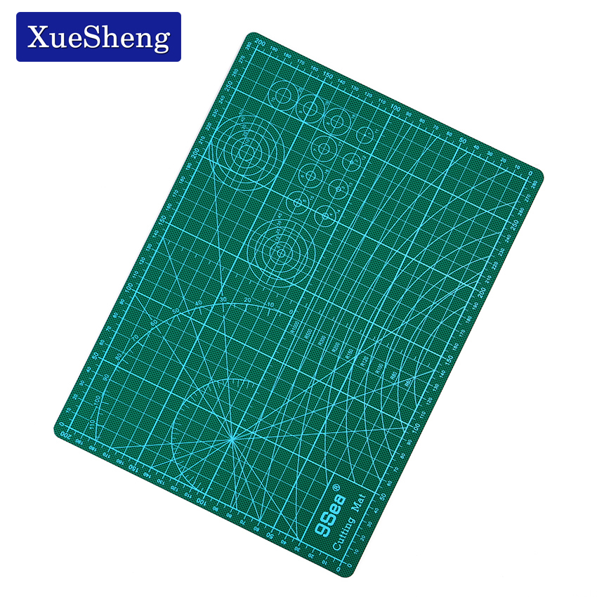 Cutting Mat A4 30*22*0.2cm PVC 3-layer Durable Cutting Pad Double-sided Mat for Cutting top quality pvc rectangle self healing cutting mat tool non slip craft quilting printed professional double sided cutting mat