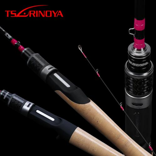 TSURINOYA CLEVER 1 19m 1 57m 1 60m 1 85m FUJI Accessories Fishing Rod Ultralight Carbon