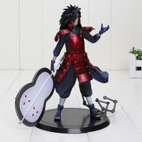 17cm Naruto Madara Uchiha PVC Action Figure Model Toys With Box Naruto figure