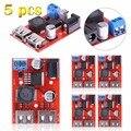 1pc/2pcs,/5pcs DC-DC 9/12/24/36V to 5V 3A Dual USB Car Charger Step-down Buck Power Module