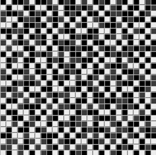 Fondo de pantalla de mosaico de plata negro papel pintado - Papel pintado mosaico ...