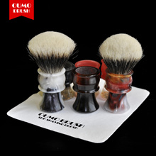 OUMO BRUSH-2017/9/5 Art shaving brush with SHD Manchuria finest badger knot gel city 28mm