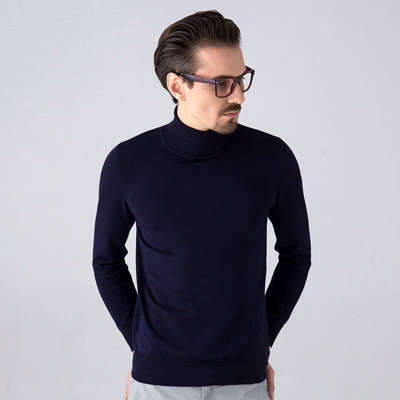 TIGER CASTLE Kvalitet Märke Herrkläder Mode Man Turtleneck Höst - Herrkläder - Foto 2