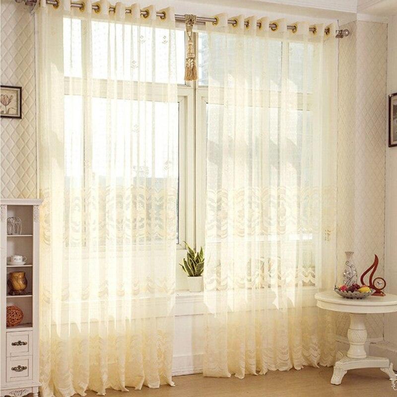 Cortinas modernas para sala de estar cortina organza del for Estilos de cortinas