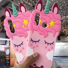 For Huawei P20 Unicorn Phone Cases For Huawei P20 Pro / P20 Lite / P10 Cute Cartoon Horse Soft Back Case Cover Girl Case все цены