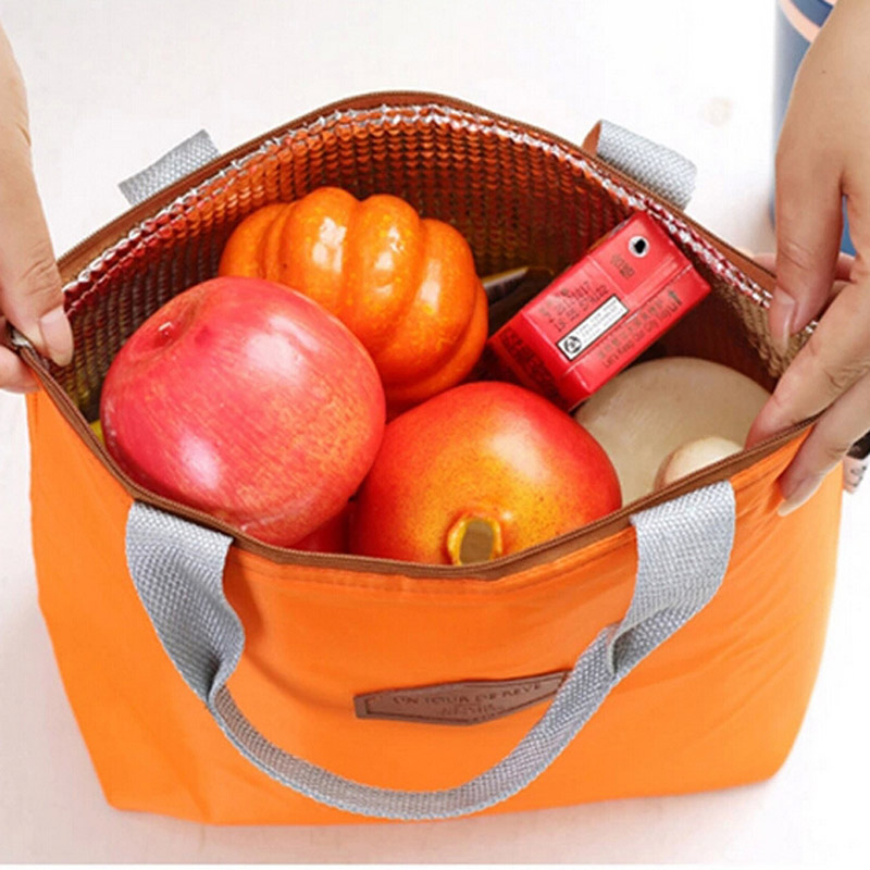 New Thermal Insulated Portable Cooler Waterproof Food Storage Container Bag Tote Carry Bag Organizer For Outdoor Camping Lunch