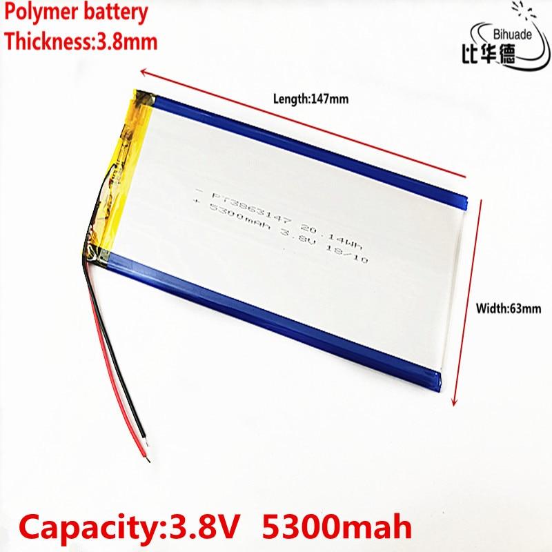 Аккумулятор для планшета Nvidiashield K1, 8 дюймов, 147*63*3,8 мм, 3,8 В, 5300 мА · ч, пожалуйста, прочитайте описание!