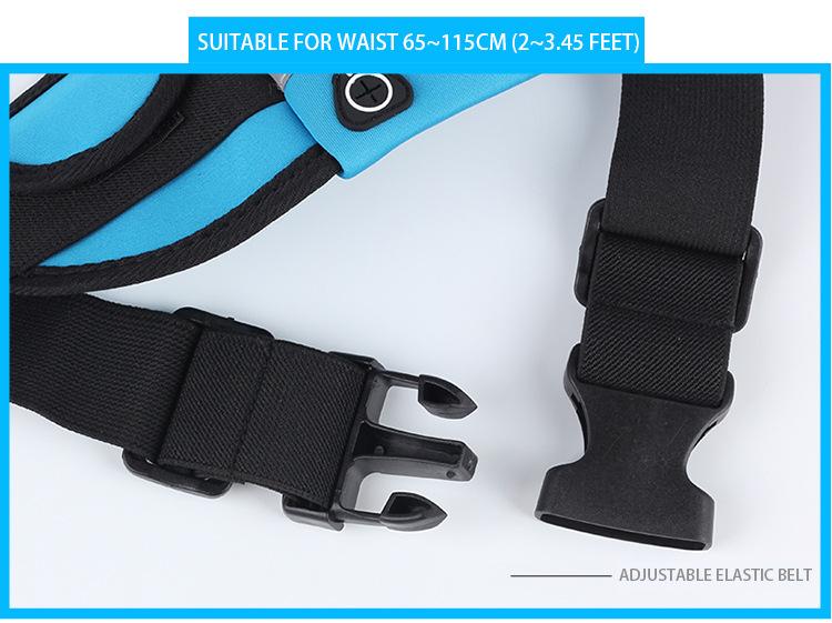 Outdoor Running Waist Bag Waterproof Mobile Phone Holder Jogging Belt Belly Bag Women Gym Fitness Bag Lady Sport Accessories 21