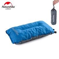 Naturehike ao ar livre camping mat automático inflável travesseiro esponja travesseiro de viagem ar almofada ultraleve macio fácil de transportar frete grátis