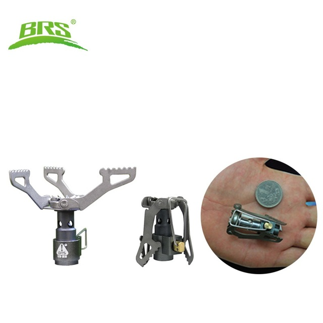 BRS Portable Mini Camping Titanium Stove Outdoor Gas Survival brs-3000t