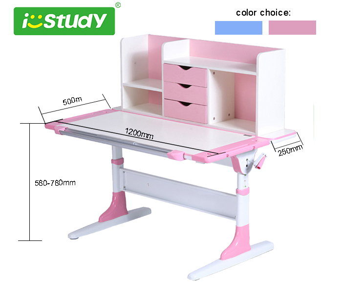 Home Furniture Height Adjustable Children Desk Kids Learning Table/ Writing  Table/ Drawing Table In Children Tables From Furniture On Aliexpress.com ...