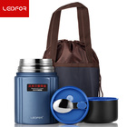 2018 Thermos Lunch Box food Jar Vacuum Flask Thermo Kitchen 304 Stainless Steel Insulated Thermal Keep Heat women Kid Thermoses
