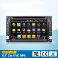 Capacitiva del Androide 6.0 3G Wifi Del Coche DVD GPS de Navegación Estéreo Del Coche 2din Radio de Coche GPS Bluetooth USB/SD Reproductor Universal