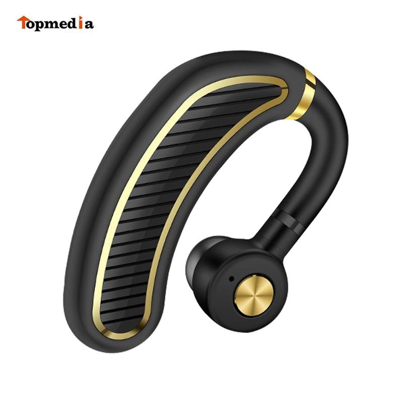 K21 Pro Waterproof Wireless Business Bluetooth Earphones Headset With Mic Long Standby Earphone Headsets For IPhone Se Xiao mi
