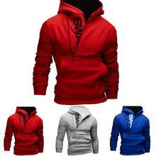 EV 1 Fee Shop Heißer Verkauf Tropfen-verschiffen Männer Langarm Mit Kapuze Sweatshirt Tops Jacken-mantel Outwear