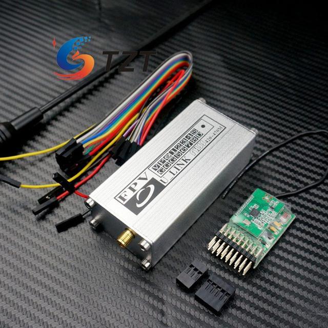 ULINK 433 Гц FPV Передатчик Приемник Расширенного Диапазона 14CH Rx Tx Двойная Антенна для RC Quadcopter Multicopter