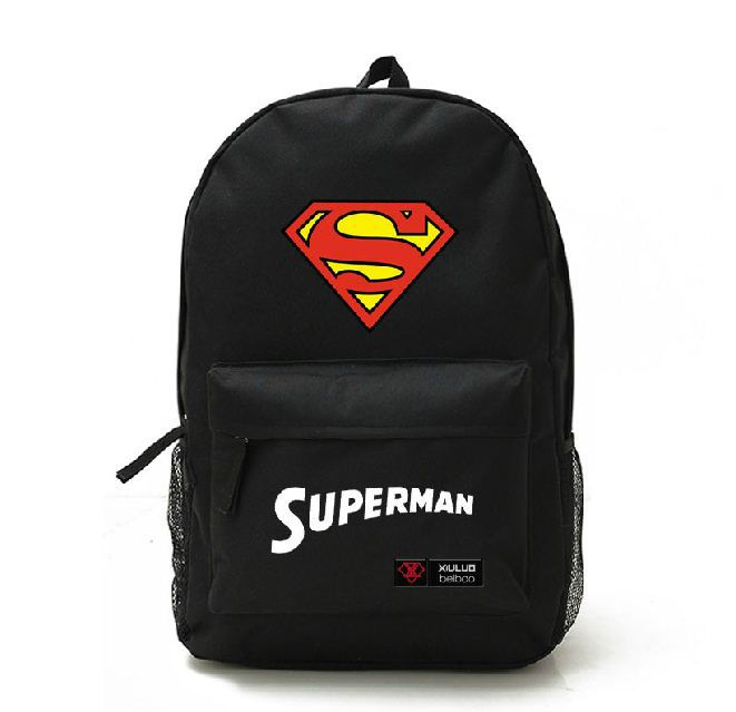 67897e8c75 Superman Man of Steel Galaxy Backpack Rucksack School canvas Bags on  Aliexpress.com