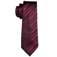 Men's Silk Tie Set (Tie + Handkerchief + Cufflinks)
