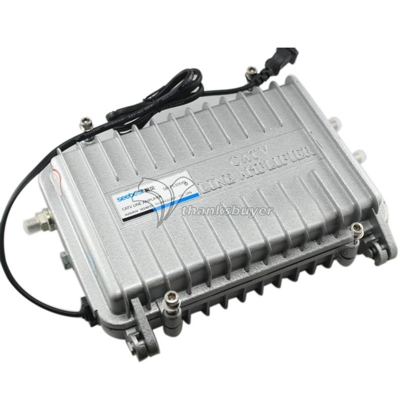 Seebest SB-7530MB Cable TV Signal Amplifier Splitter Booster CATV Trunk Line Amp jasen js sp08 8 way splitter for satv catv tv receiver silver