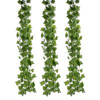 FunPa 12 филиал 6.89Ft искусственный Плющ шелк Поддельные Сваг из лозы листьев растений Гирлянда для украшения стены Искусственные Брюки