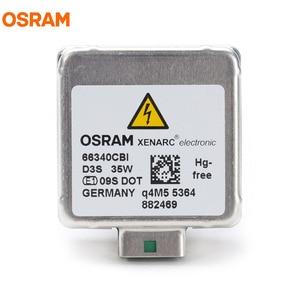 Image 4 - OSRAM D3S 35W 66340CBI 5000K מגניב כחול אינטנסיבי HID OEM הנורה 20% יותר אור קסנון לבן מנורת רכב אור פנס, 1X