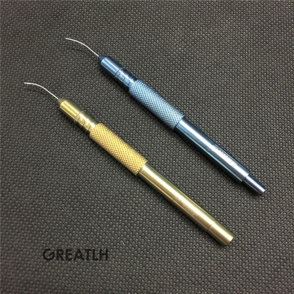 1 pièces à main de succion ultrasonique d'injection d'eau ophtalmique de santé de beauté outils de soin de peau de visage soins des yeux