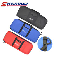 цены 1pc Archery Bow Bag Holder Portable Recurve Bow Bag For Outdoor Sports Shooting Practice With Arrow Quiver Hunting Accessories