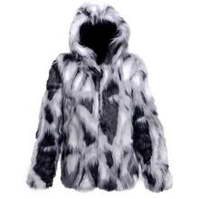 Personality winter thicken warm faux fo fur coats mens leather jacket slim casual jackets men jaqueta de couro plus size 6XL